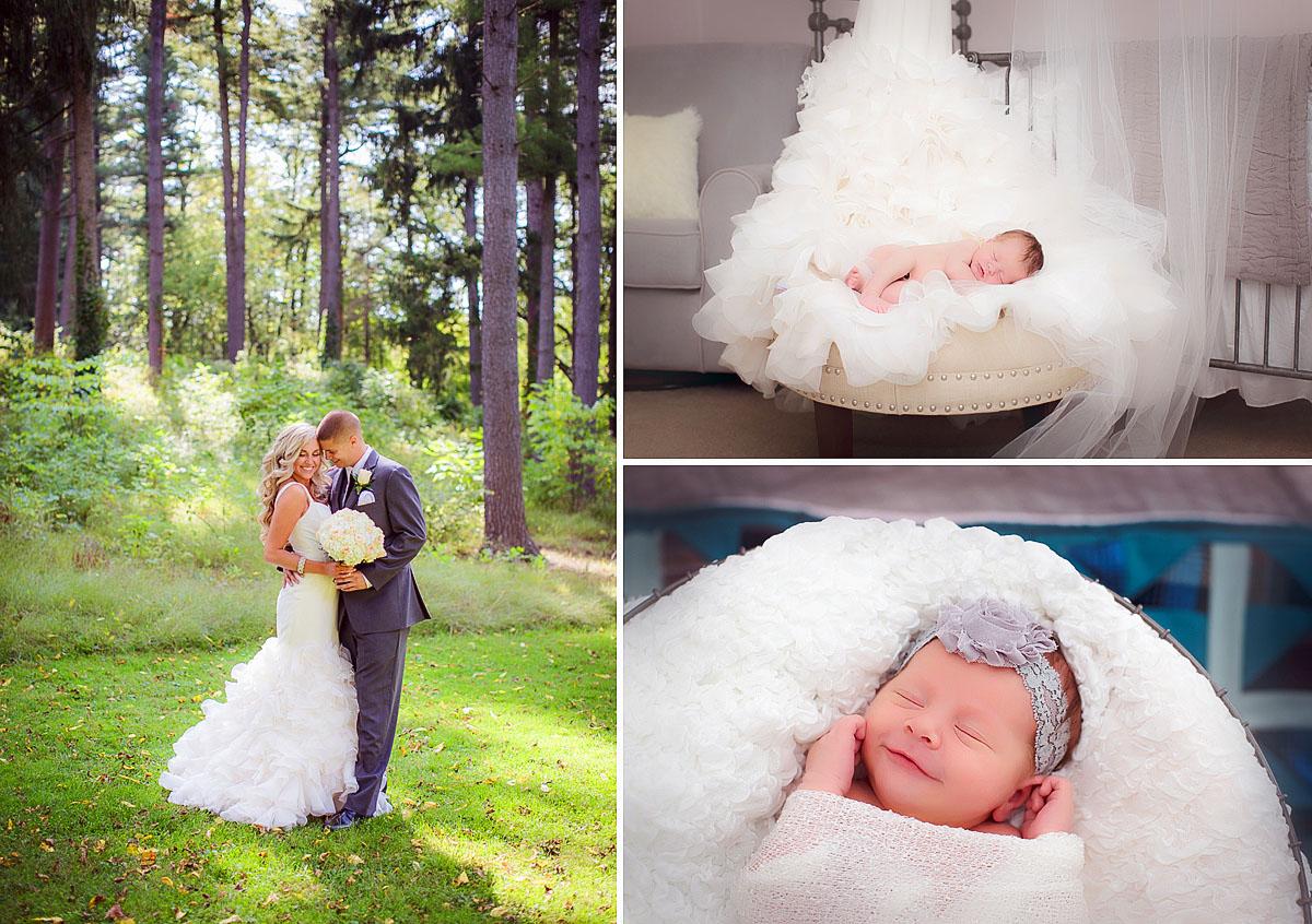 Berks Co. PA wedding and newborn photography