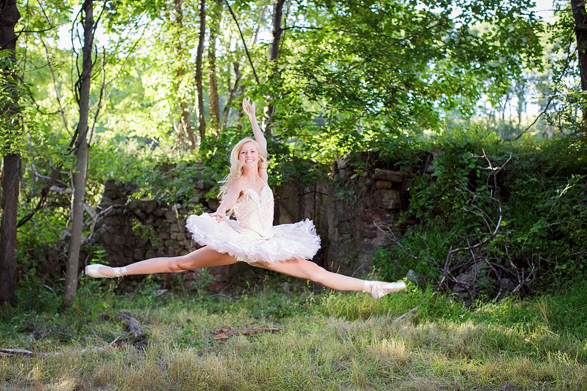 Ballet senior photos Schuylkill County