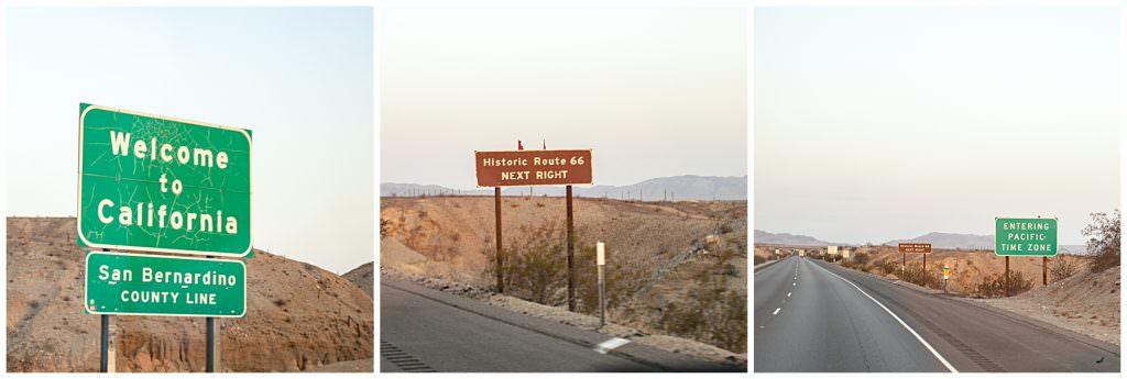 road trip road signs